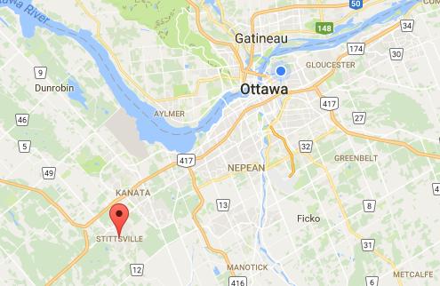 Stittsville Location relevant to the City of Ottawa