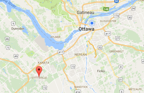 Stittsville Location relevant to the City of Ottawa
